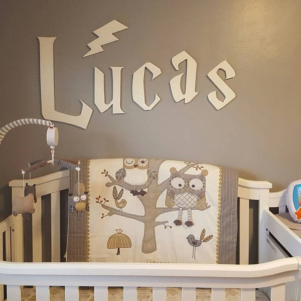 Harry Potter Nursery Ideas & Wizard Wall Art