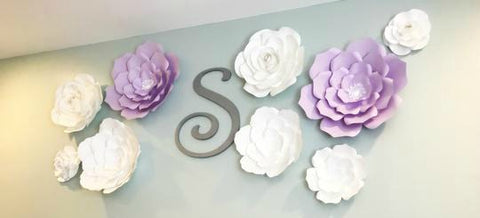 Nursery Wall Flower Decor