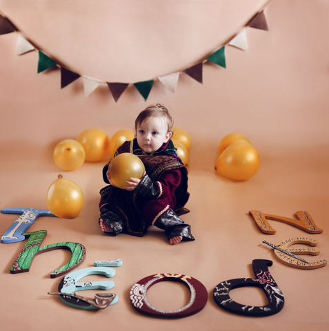 Lord of the Rings Baby Photo Shoot
