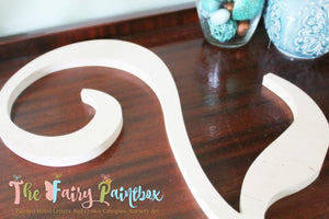 Unfinished Wooden Number - Wooden Table Number - Standing Wood Number