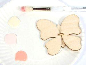 Assemble Your Own 3D Butterfly Kit - Wooden Butterfly Party Favor Kit