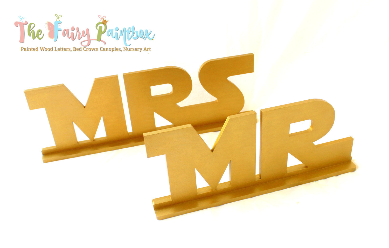 Gold Star Jedi Sweetheart Table Wood Letters - Jedi MR and MRS ...