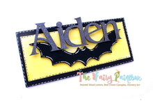 Personalized Bat Cave Baby Room Sign - Bat Cave Kids Room Sign