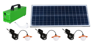 50W Solar LED Battery Backup  LED Solar battery