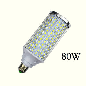 80W  - Watts LED Corn Bulb Light - Save money with LED lights - E26 and E39 for US