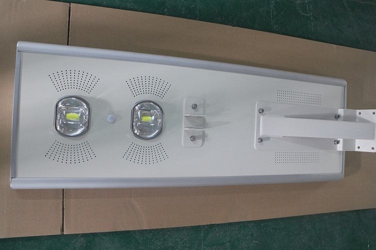 80W All In One Integrated Solar LED Street Light