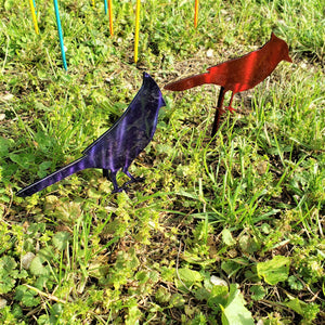 image of Cardinal and Blue Jay Garden Decor