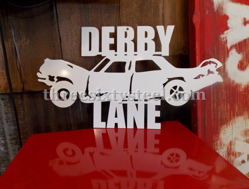 Custom Designed Steel Signs for your man cave, shop, garage or bar
