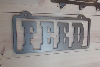 FEED Bar n Grill Sign