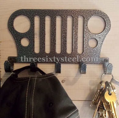 Jeep Steel Key Hook