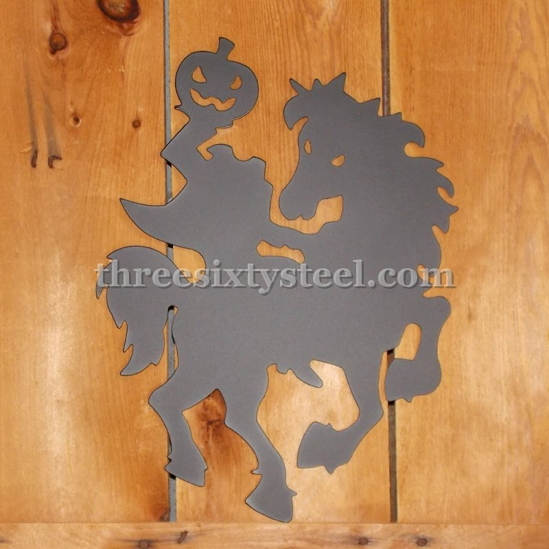 Headless Horseman Steel Art