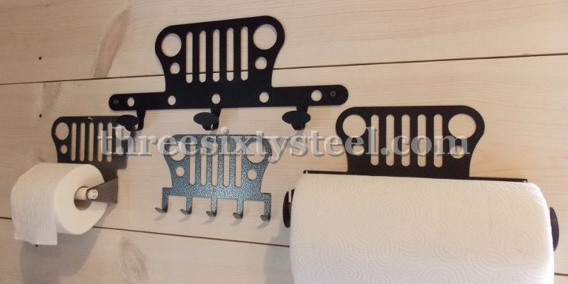 4 piece Jeep Holder/Hook Set