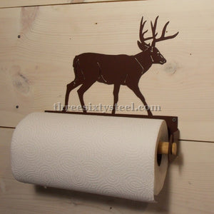 Deer Steel Paper Towel Holder