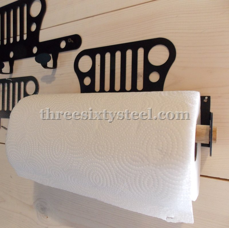 Jeep Steel Paper Towel Holder