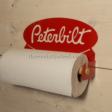 Peterbilt Steel Paper Towel Holder