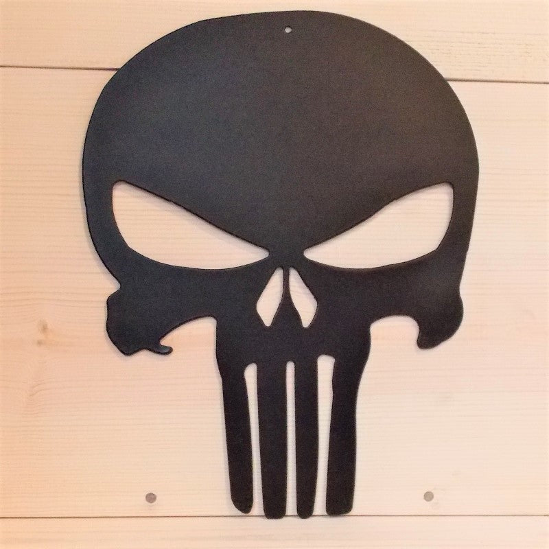 image of Punisher Skull Metal Wall Art