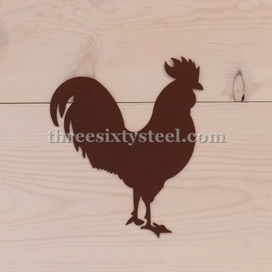 Rooster Steel Wall Art