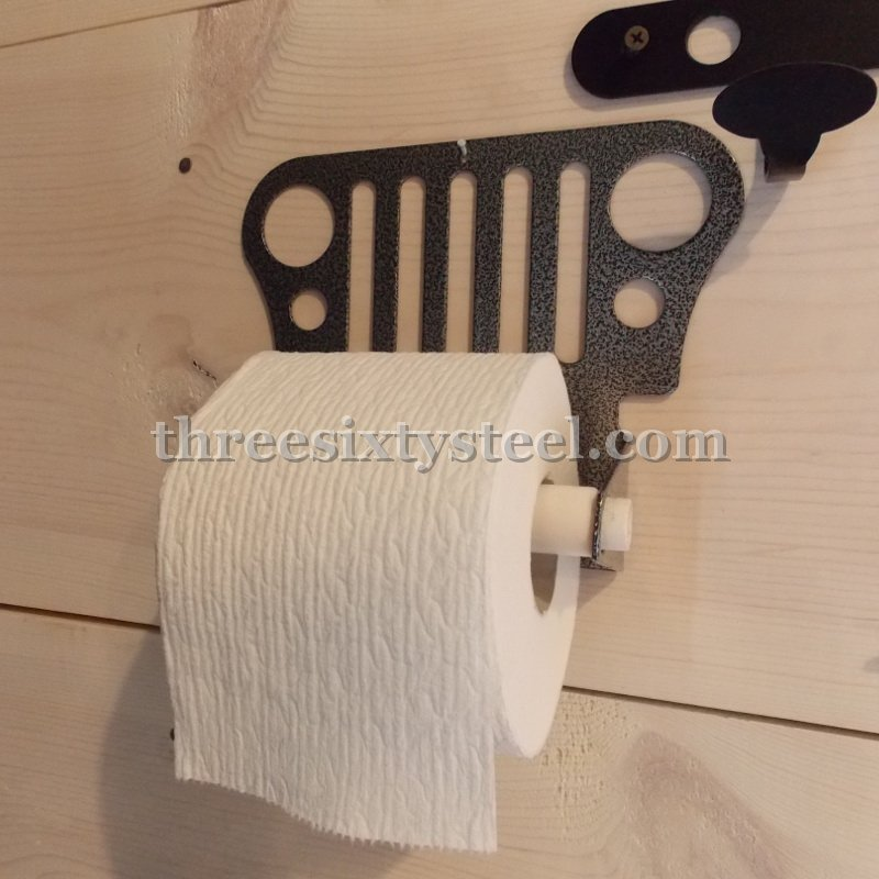 Jeep Grill Steel Toilet Paper Holder