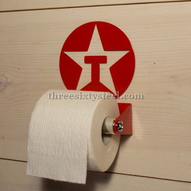 Texaco Steel Toilet Paper Holder