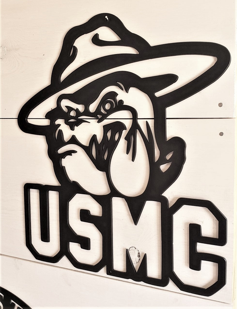U.S.M.C. Devil Dog Steel Decor
