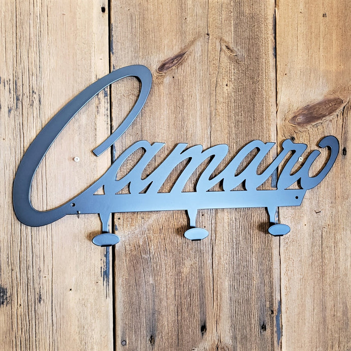 Camaro Emblem Steel Coat Hook