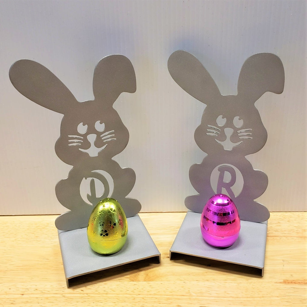image of Easter Bunny Monogram Easter Egg Holder