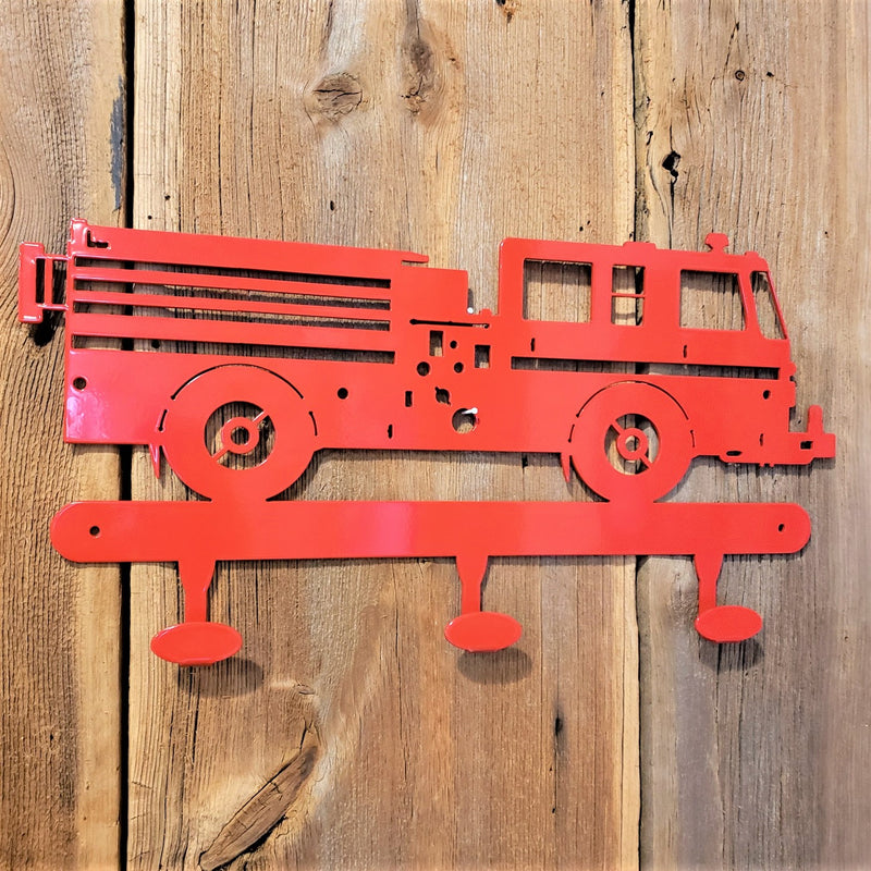 image of Fire Truck Coat Hook