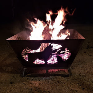 The 360-STEEL Custom Forever Fire Pit