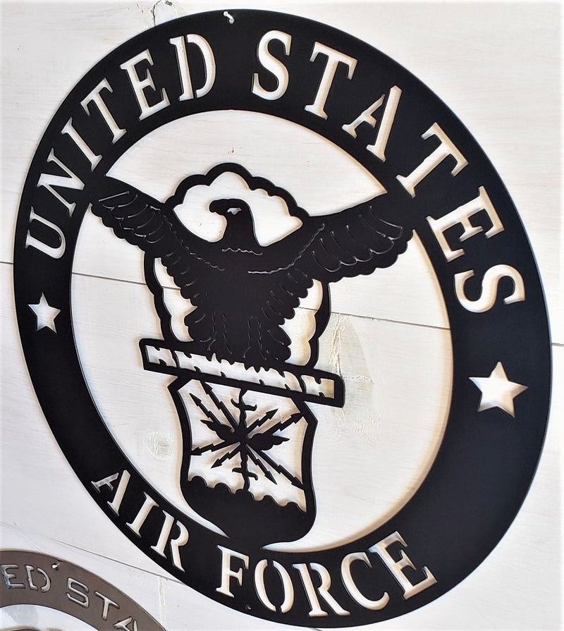 "U.S. Air Force Emblem 20"" Steel Sign"