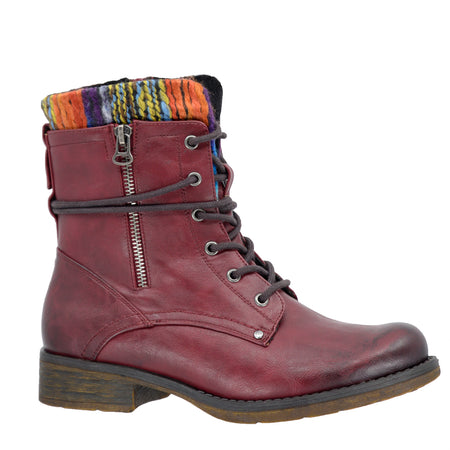 TAXI - SOHO-02 - Women's Combat Casual Flat Boot