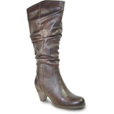 Vangelo SD4506 - Women Knee High Light Winter Fur Casual Boot
