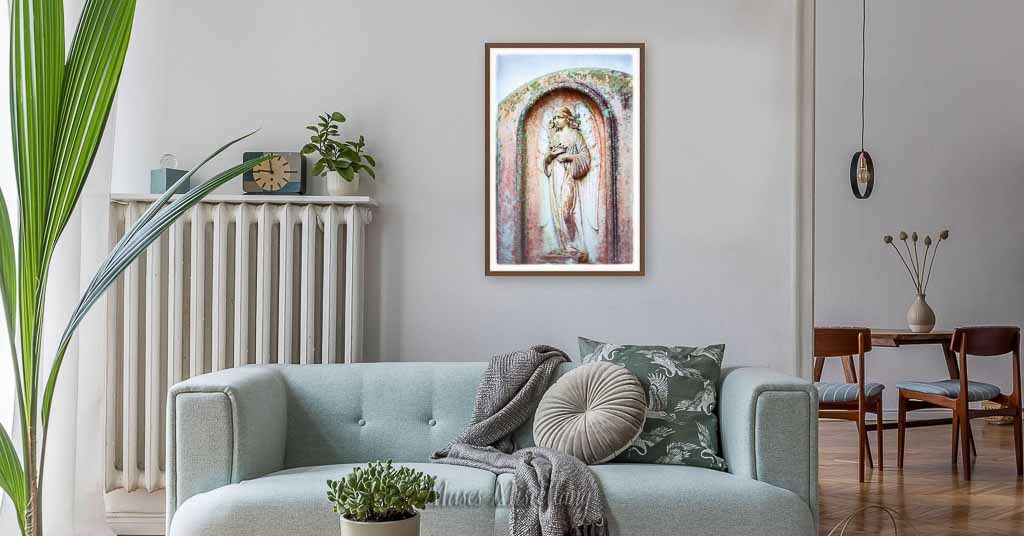 """""""Cherished"""" Poster, 24x36"""" in living room"""