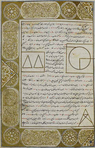 Page from the Miscellany of Iskandar Sultan