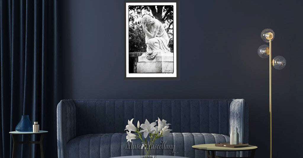 """""""Sweet Sorrow"""" Poster, 24x36"""" hanging in a living room"""