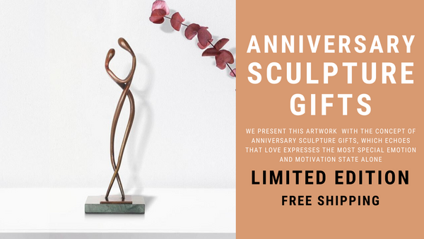 Anniversary Sculpture Gifts: Dedication & Emotional Decorative Aura