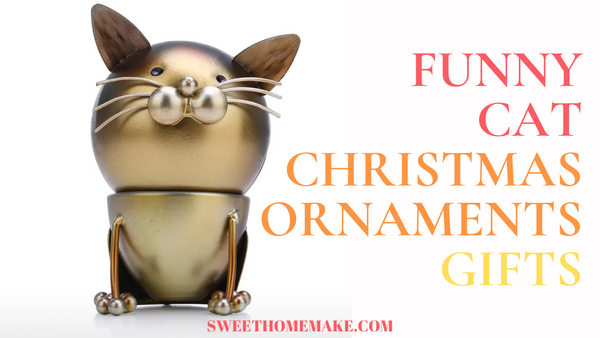Cat Christmas Ornament Gifts for Cat Lovers