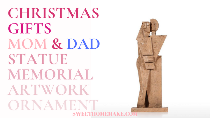 Christmas Gifts for Mom and Dad 2019 Ornaments and Couple Statue