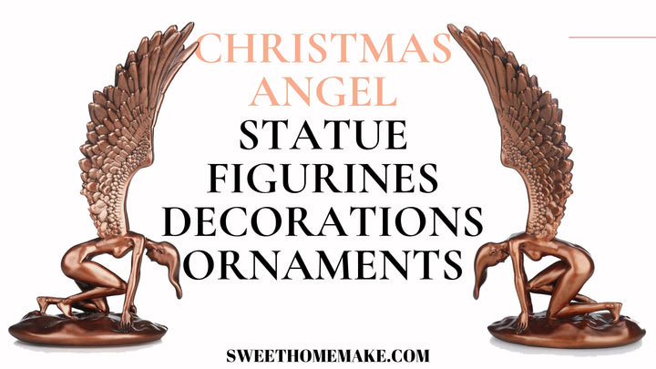 Chrsitmas Angel Statue and Figurines Ornaments Decor