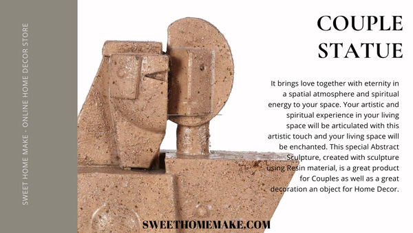 Gifts For Couples by Long Distance Statue
