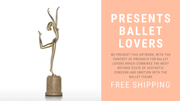 Presents For Ballet Lovers Pure Passion of Dance in Ballerina Statue