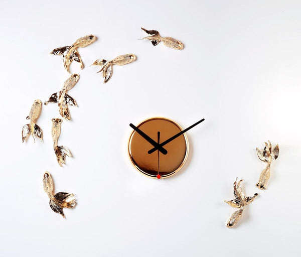 This fishing gift themed modern wall clock will enchant you