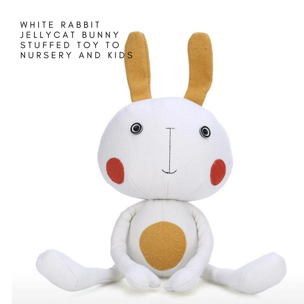 White Rabbit Jellycat Bunny Stuffed Toy to Nursery and Kids