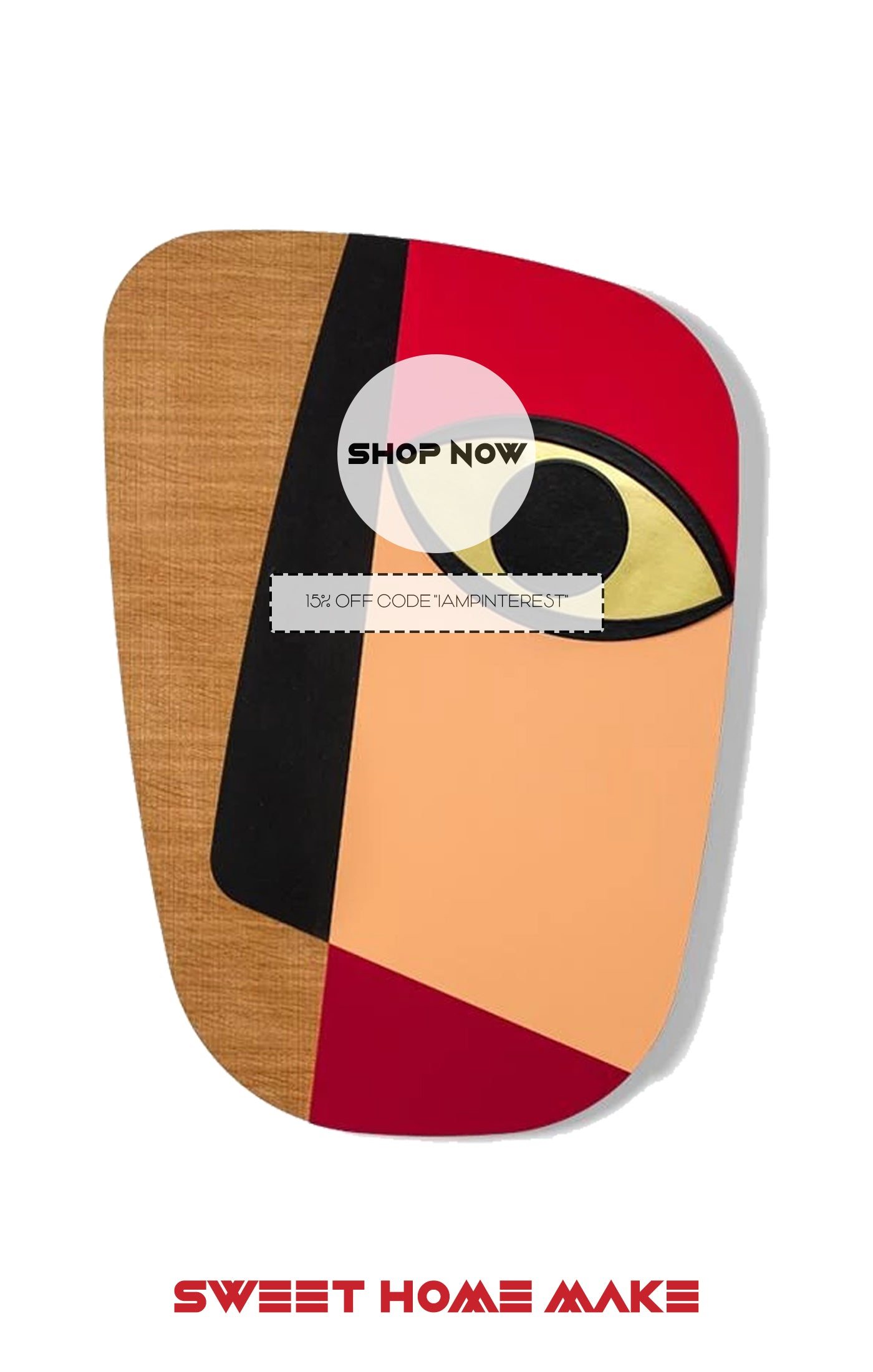 Abstract Wall Art as Home Decor Store
