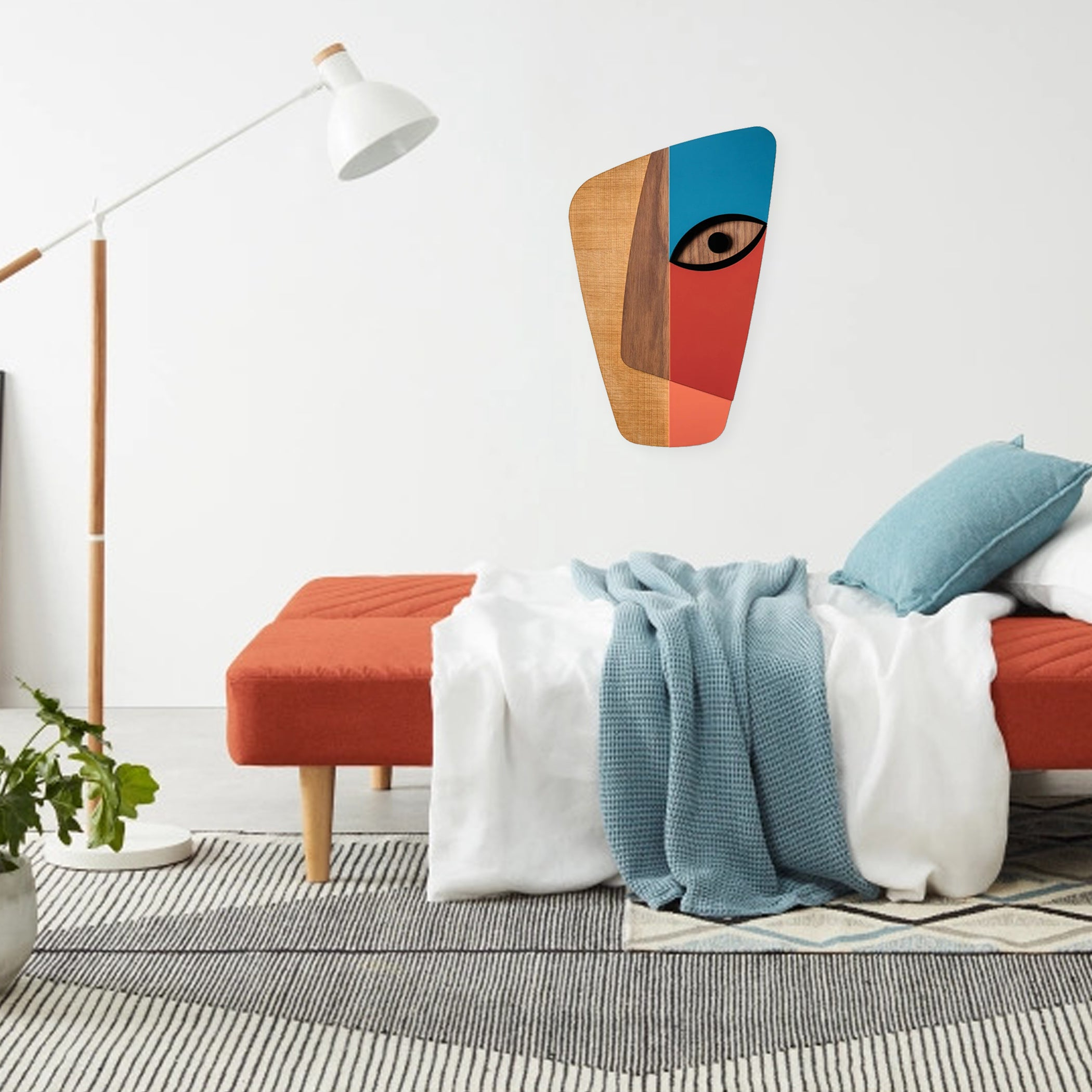 Abstract Wall Decor with Picasso Paintings