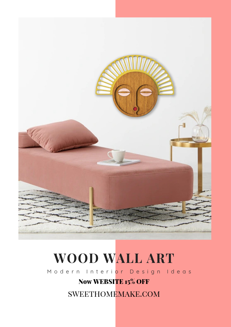African Tribal Style Wall Art