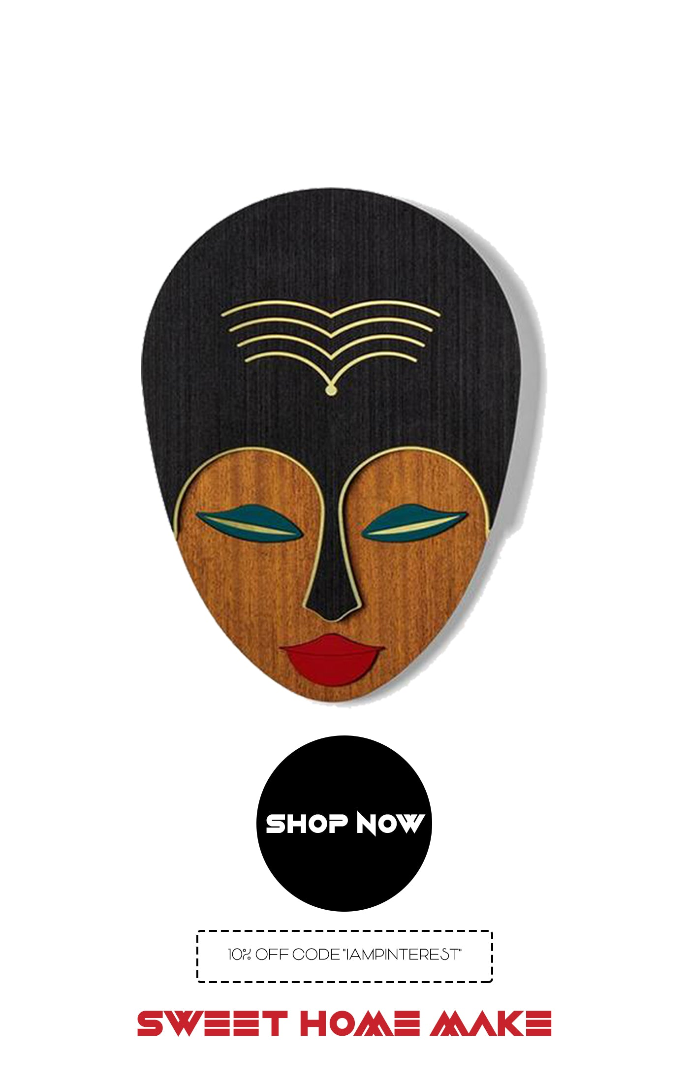 African Woman Wall Art From Online Home Decor Store