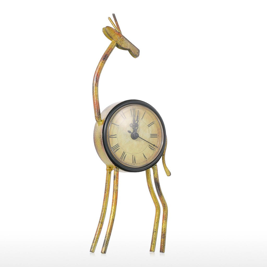 Analog Clock with Nursery Clock and Deer