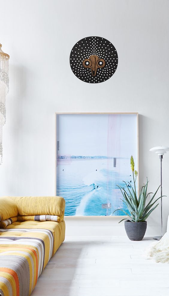 Black and White Wall Art for Beach House