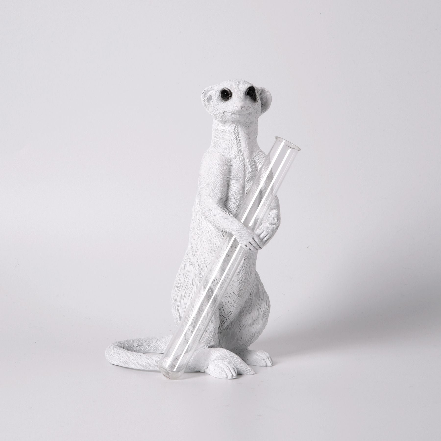 Cute Meerkat Ornament to Single Stem Vase