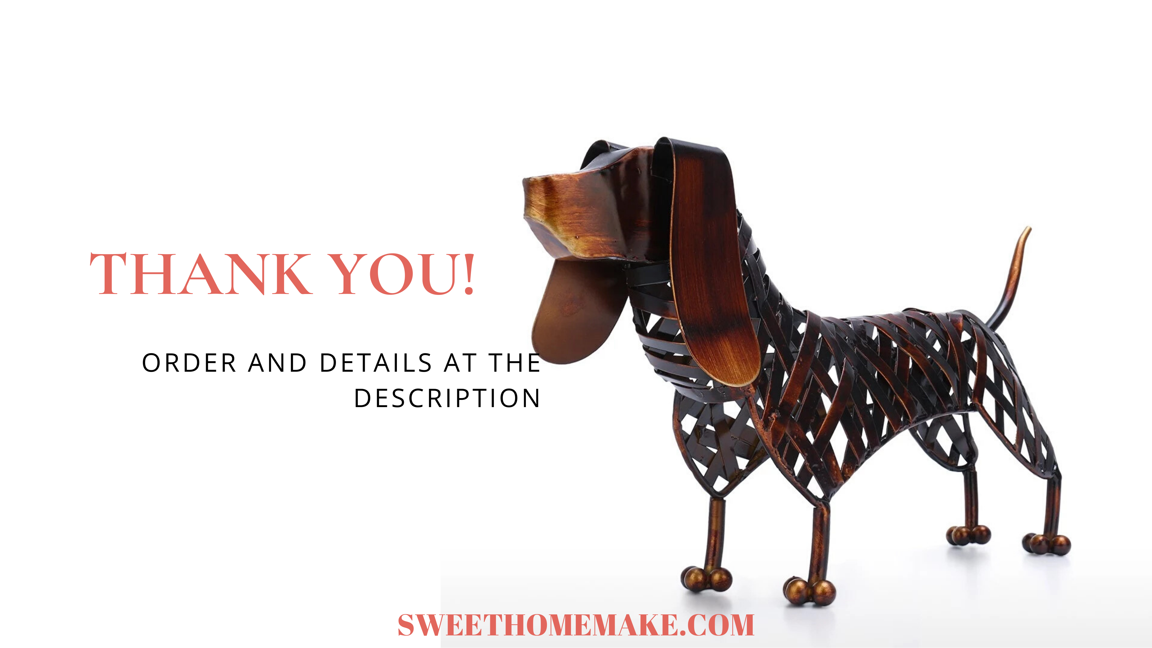 Dachshund Dog Statue: Purity of Emotional Intensity as Dachshund Gifts and Dachshund Decor